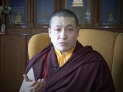 Thaye Dorje, His Holiness the 17th Gyalwa Karmapa giving a welcome message to the new website