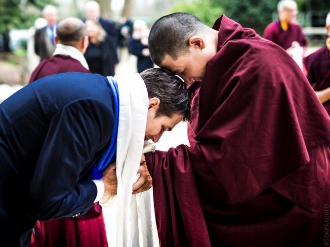 Karma Trinley Rinpoche and Thaye Dorje, His Holiness the 17th Gyalwa Karmapa