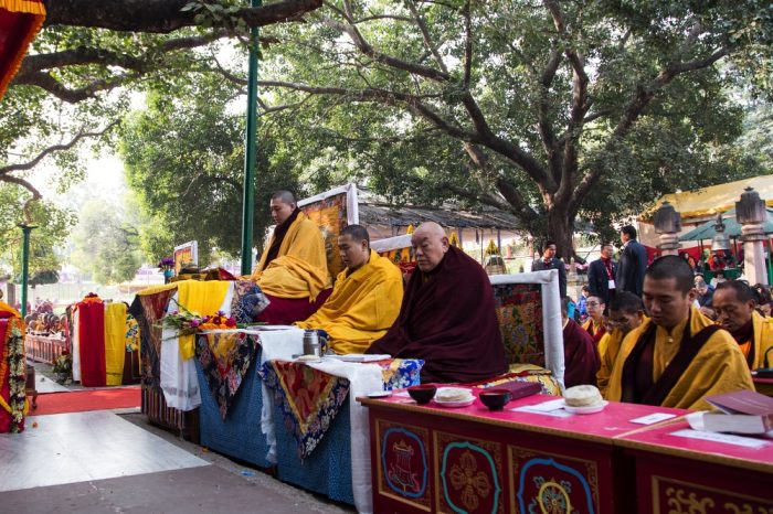 Karmapa LIVE at Bodh Gaya - The 17th Karmapa: Official website of Thaye Dorje, His Holiness the 17th Gyalwa Karmapa
