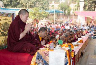 Kagyu Monlam in Bodh Gaya with Thaye Dorje, His Holiness the 17th Gyalwa Karmapa, 2015. Photo / Thule Jug
