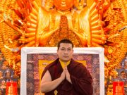 Thaye Dorje, His Holiness the 17th Gyalwa Karmapa, in Indonesia giving teachings and Buddhist refuge. Photo/Thule Jug