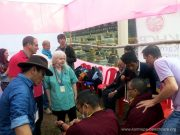 Karmapa Healthcare Project at the Kagyu Monlam