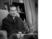 Thaye Dorje, His Holiness the 17th Gyalwa Karmapa, teaching