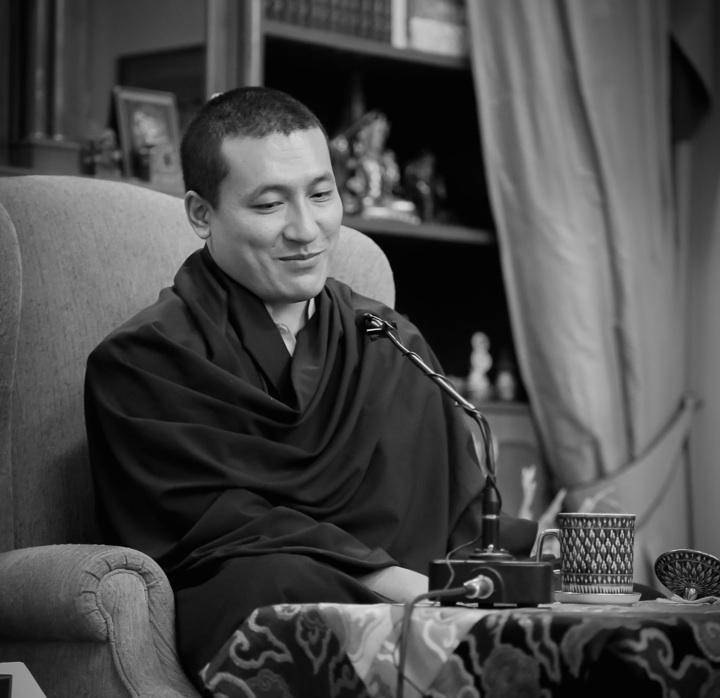 Thaye Dorje, His Holiness the 17th Gyalwa Karmapa teaching