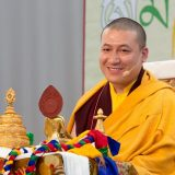 Thaye Dorje, His Holiness the 17th Gyalwa Karmapa, in France 2015. Photo / Thule Jug
