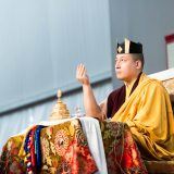 Thaye Dorje, His Holiness the 17th Gyalwa Karmapa in France 2015. Photo / Tokpa Korlo