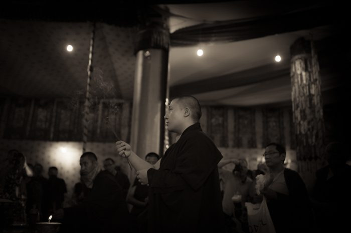 Thaye Dorje, His Holiness the 17th Gyalwa Karmapa, in Nepal. Photo/Tokpa Korlo