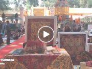 Kagyu Monlam in Bodh Gaya with Thaye Dorje, His Holiness the 17th Gyalwa Karmapa, 2016.