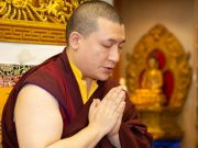 Thaye Dorje, His Holiness the 17th Gyalwa Karmapa, gives a teaching