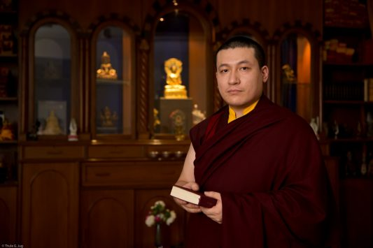 Thaye Dorje, His Holiness the 17th Gyalwa Karmapa, gives a statement on the attacks in Nice, France. Photo / Thule Jug