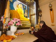 Thaye Dorje, His Holiness the 17th Gyalwa Karmapa, gives a teaching on the Buddha