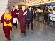 Thaye Dorje, His Holiness the 17th Gyalwa Karmapa, in Taiwan. Photo / Thule Jug