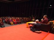 Thaye Dorje, His Holiness the 17th Gyalwa Karmapa, teaching about