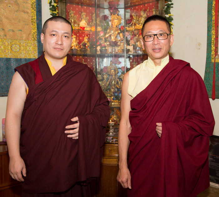 Lopon Rinpoche from Taiwan. Photo/Thule G.Jug