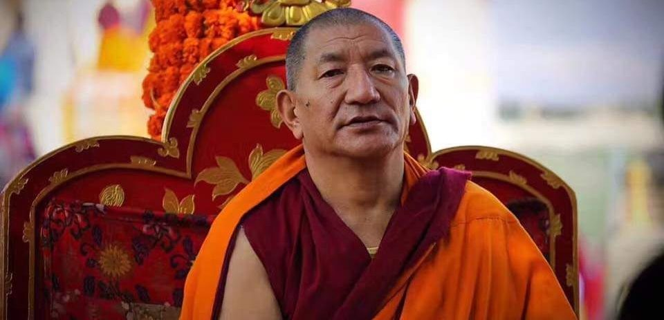 The late Kathok Getse Rinpoche