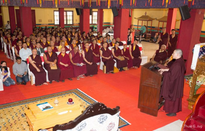 Tribute to Shamar Rinpoche: Concluding speech by Thaye Dorje, His Holiness the 17th Gyalwa Karmapa.