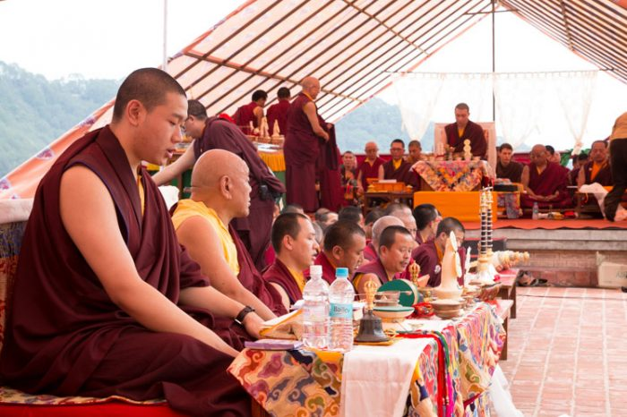 Jamgon Kongtrul Rinpoche, Beru Khyenste Rinpoche, Dupsing Rinpoche. Photo/Lekshey Jorden